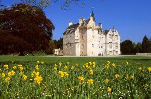 Brodie Castle ist ein beliebter Drehort.