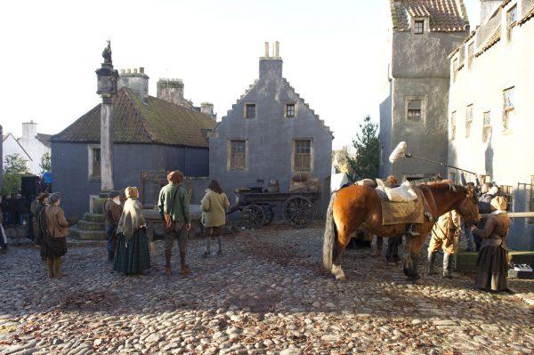 Outlander- Dreharbeiten (NTS pic)