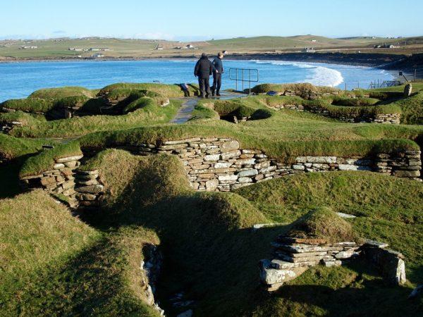 Am Strand von Orkney: Die Steinzeitsiedlung Skara Brae
